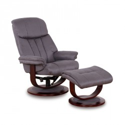 Fauteuil de relaxation Gris - INFINITY