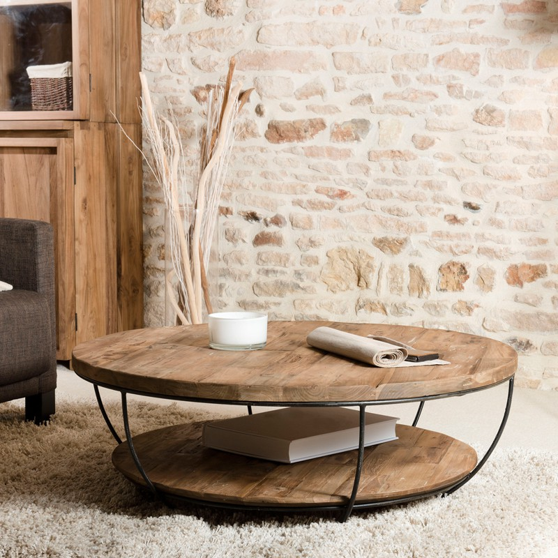 grande table basse coque double plateau asio n 2 univers du salon. Black Bedroom Furniture Sets. Home Design Ideas