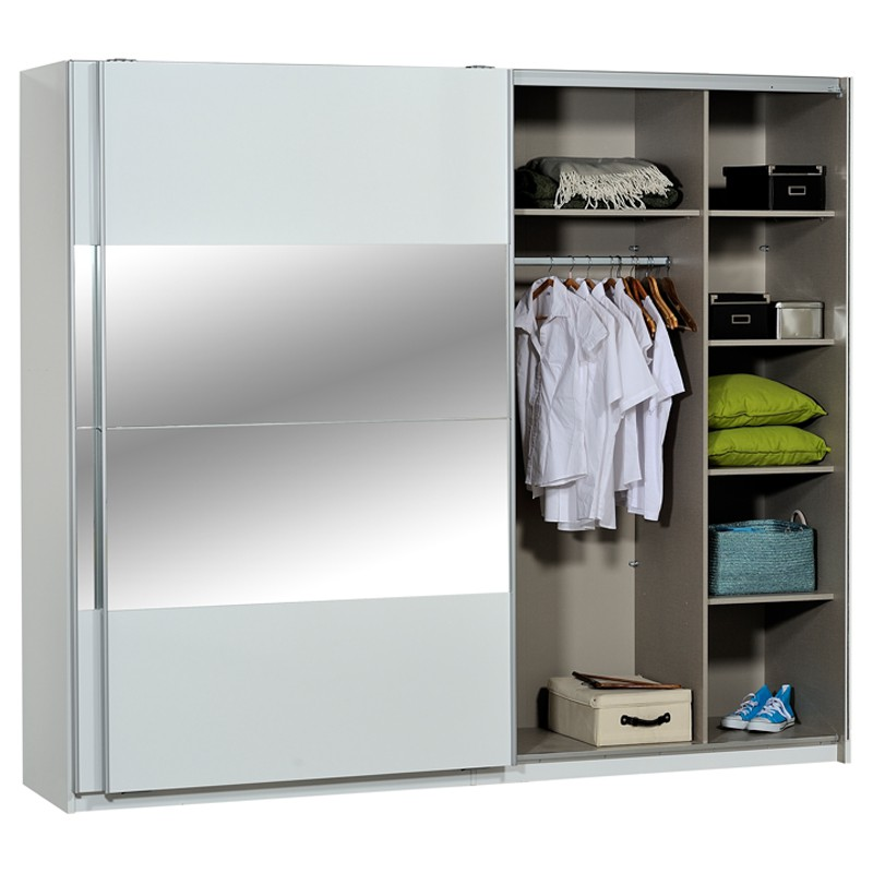Armoire Dressing Blanche Canyon Univers Chambre