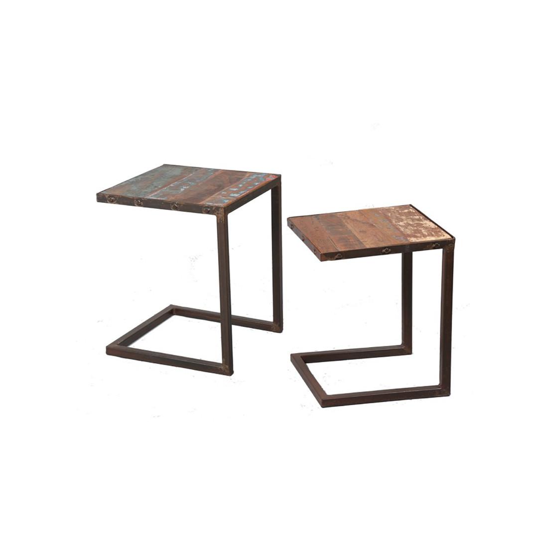 tables gigognes bric univers salon et petits meubles tousmesmeubles. Black Bedroom Furniture Sets. Home Design Ideas
