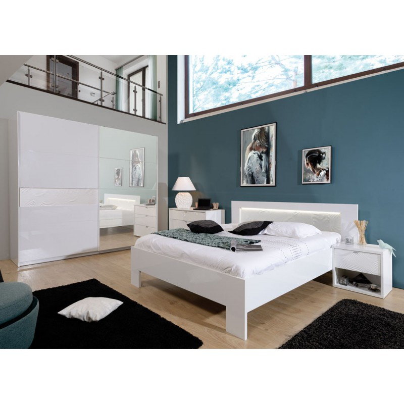 cadre de lit t te de lit 140 190 senya univers de la chambre. Black Bedroom Furniture Sets. Home Design Ideas