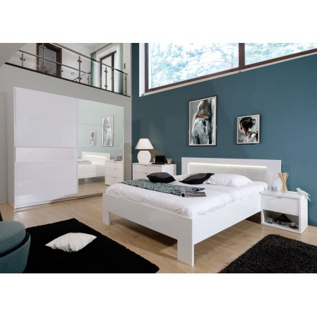 chambre adulte compl te 160 200 senya univers de la. Black Bedroom Furniture Sets. Home Design Ideas