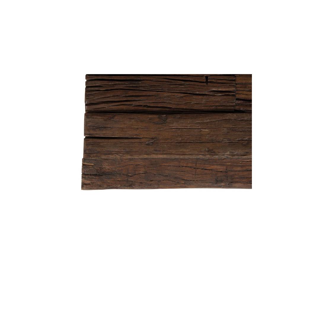 Table basse industrielle plateau bois brut POVY Univers du Salon # Plateau De Table Bois Brut