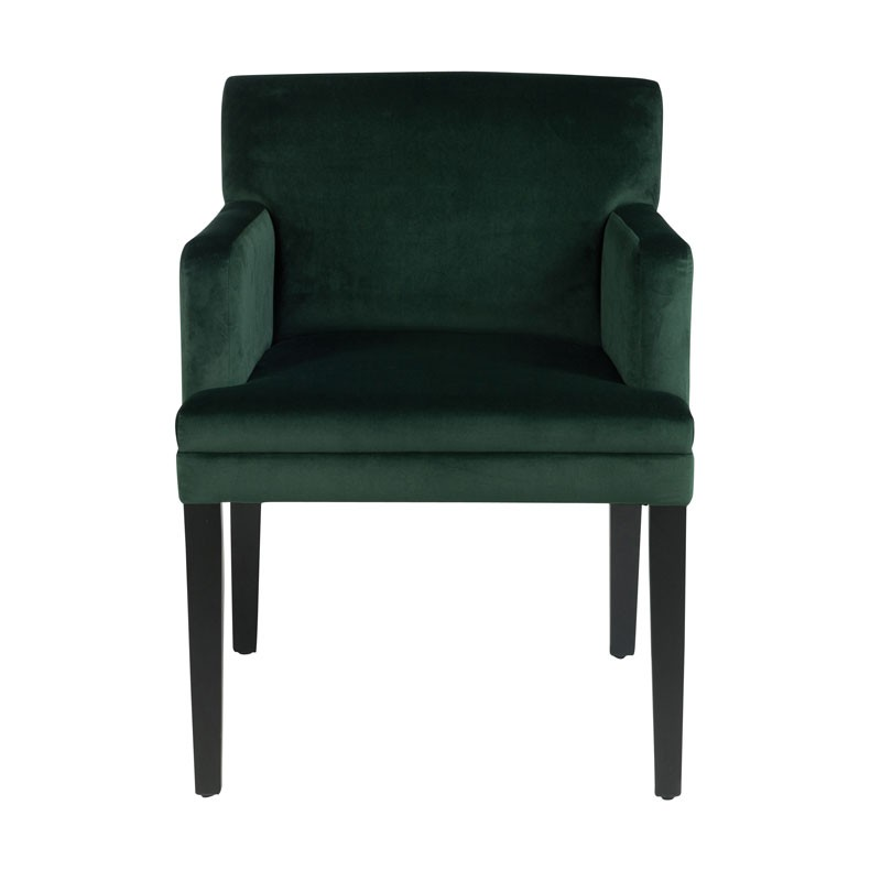 fauteuil velours vert hauteur repas velly univers des. Black Bedroom Furniture Sets. Home Design Ideas