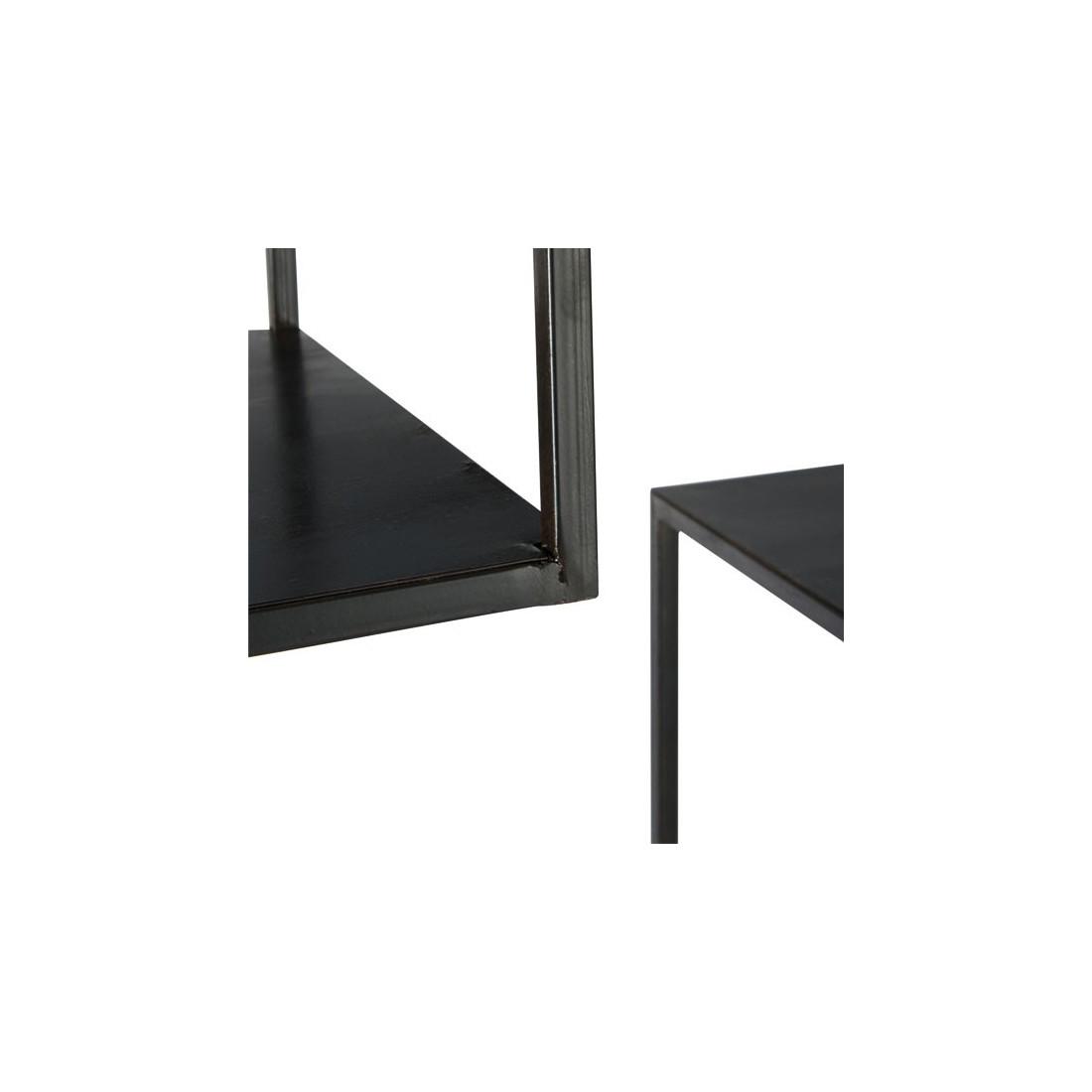 tag re m tal noir grand mod le becky univers des petits. Black Bedroom Furniture Sets. Home Design Ideas