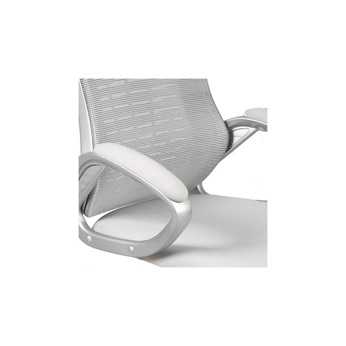 fauteuil de bureau gris tweet univers petits meubles tousmesmeubles. Black Bedroom Furniture Sets. Home Design Ideas