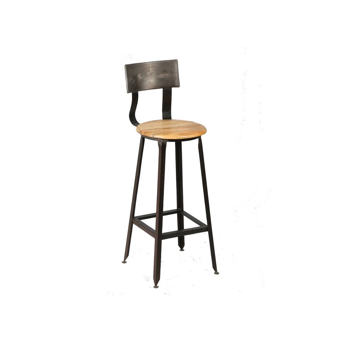Chaise de bar jack univers de la salle manger for Tabouret de bar chaises ikea