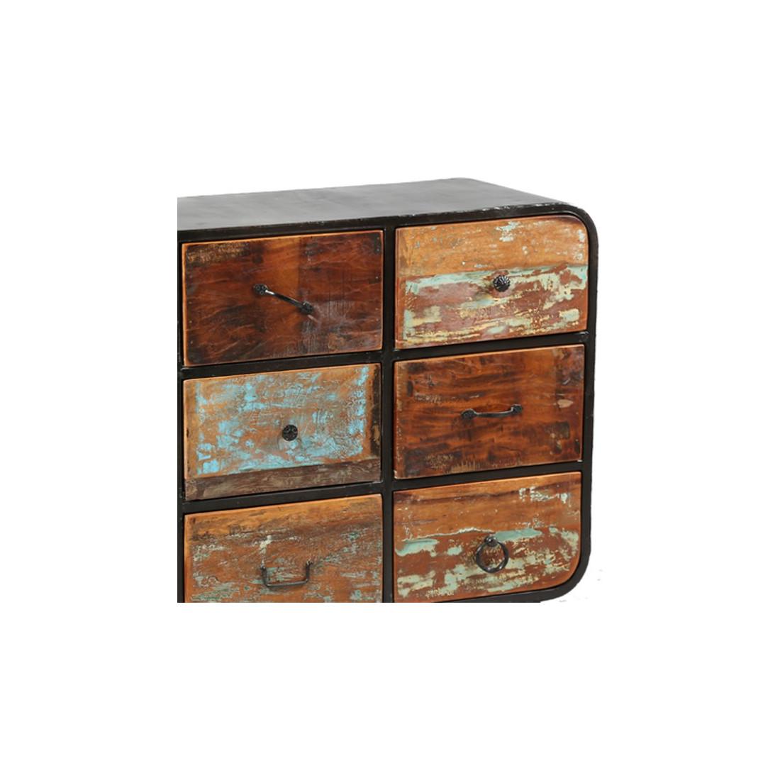 commode 9 tiroirs bric univers de la chambre. Black Bedroom Furniture Sets. Home Design Ideas