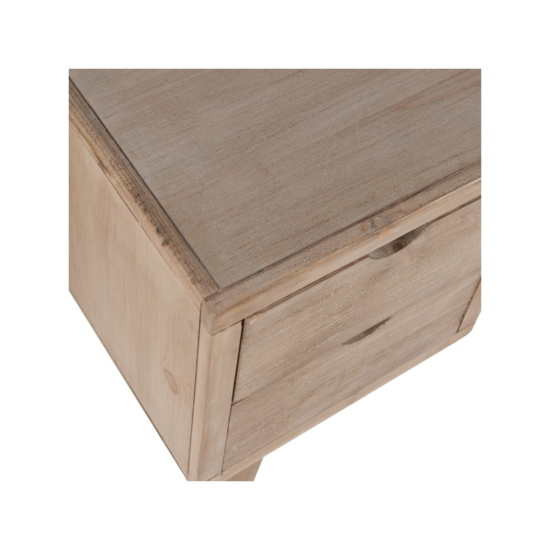 Bureau scandinave 4 tiroirs 1 niche fidouk univers du bureau for Bureau 4 tiroirs