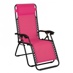 Fauteuil Relax multiposition Rose - SPRYNG