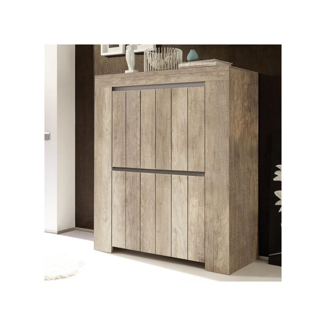vaisselier ch ne moyen 4 portes almati univers de la salle manger. Black Bedroom Furniture Sets. Home Design Ideas