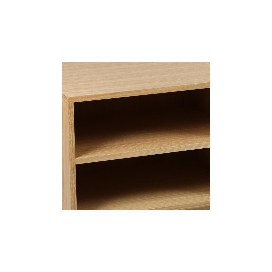Meuble tv 2 tiroirs quinta univers du salon tousmesmeubles for Meuble tiroir salon