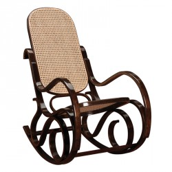 Rocking Chair teinte Noyer - COUNTRY