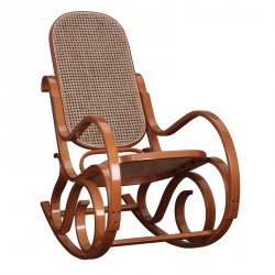 Rocking Chair teinte Miel - COUNTRY