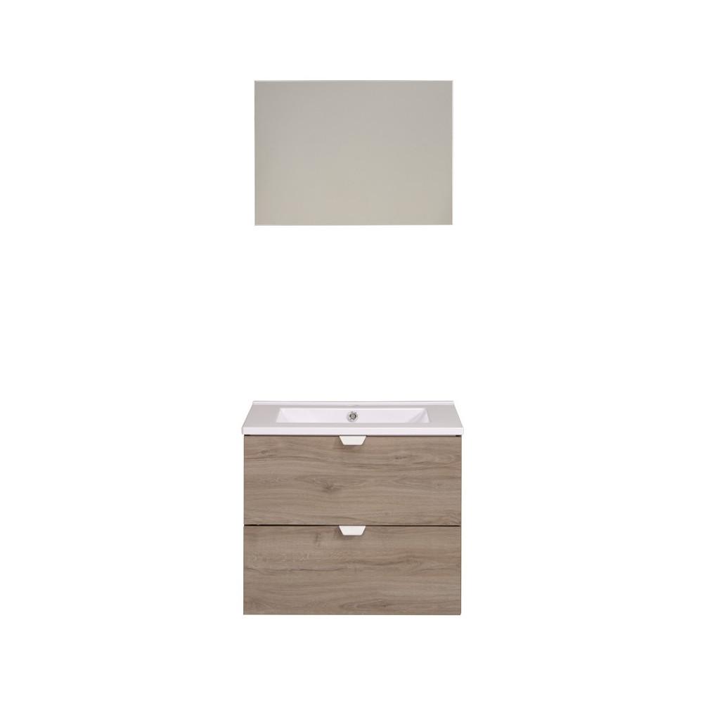 Meuble avec vasque + Miroir - URIEL n°3