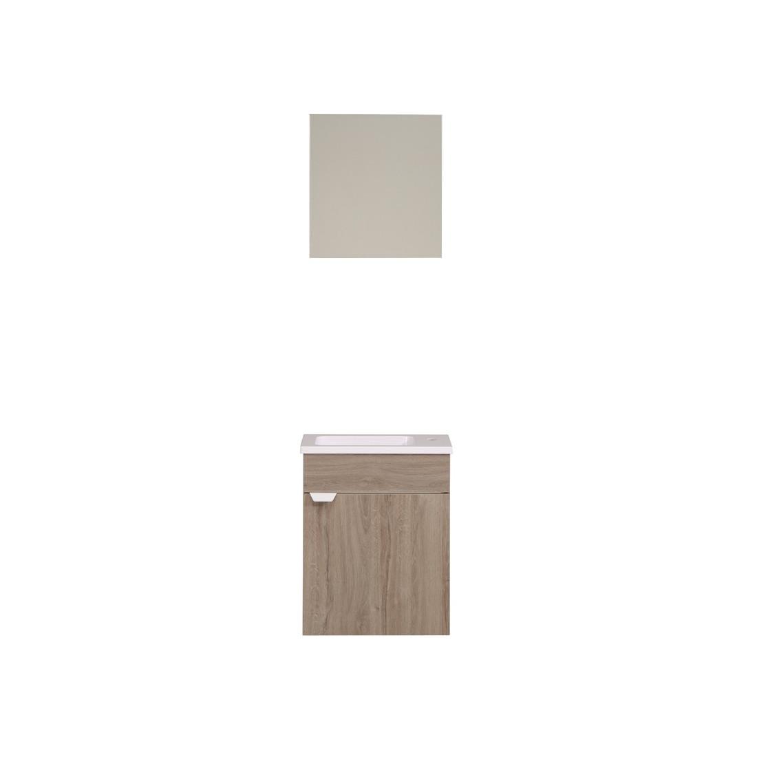 Meuble lave mains pour wc uriel n 3 univers salle de bain - Lave main meuble wc ...