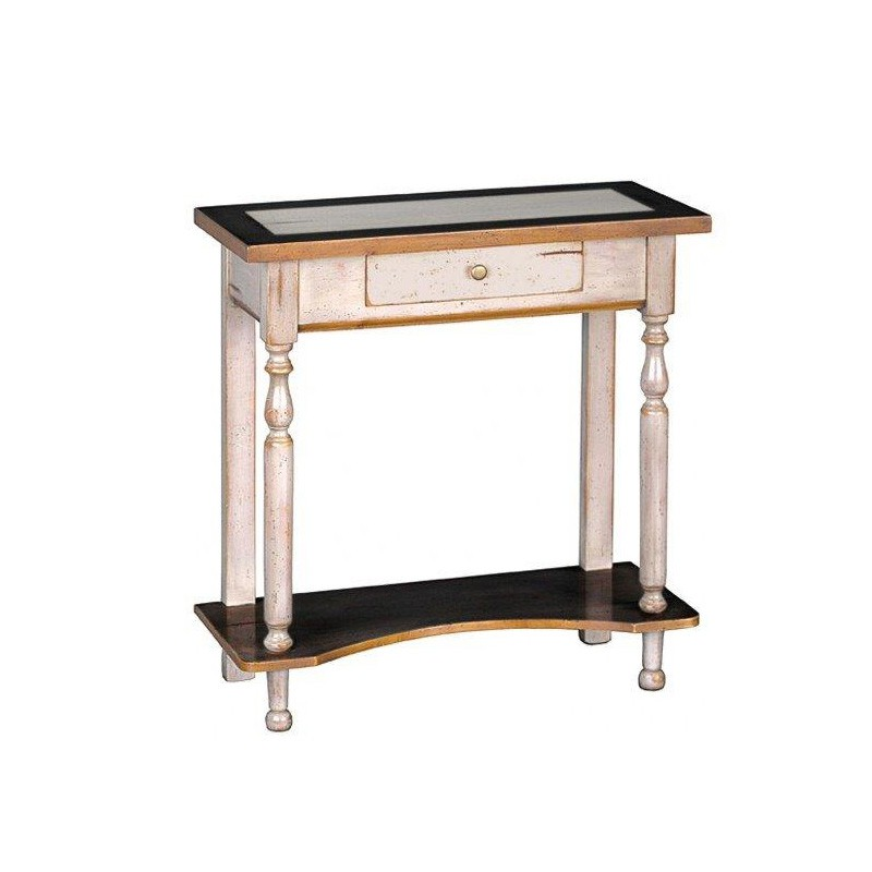 petite console 1 tiroir caliste univers petits meubles tousmesmeubles. Black Bedroom Furniture Sets. Home Design Ideas