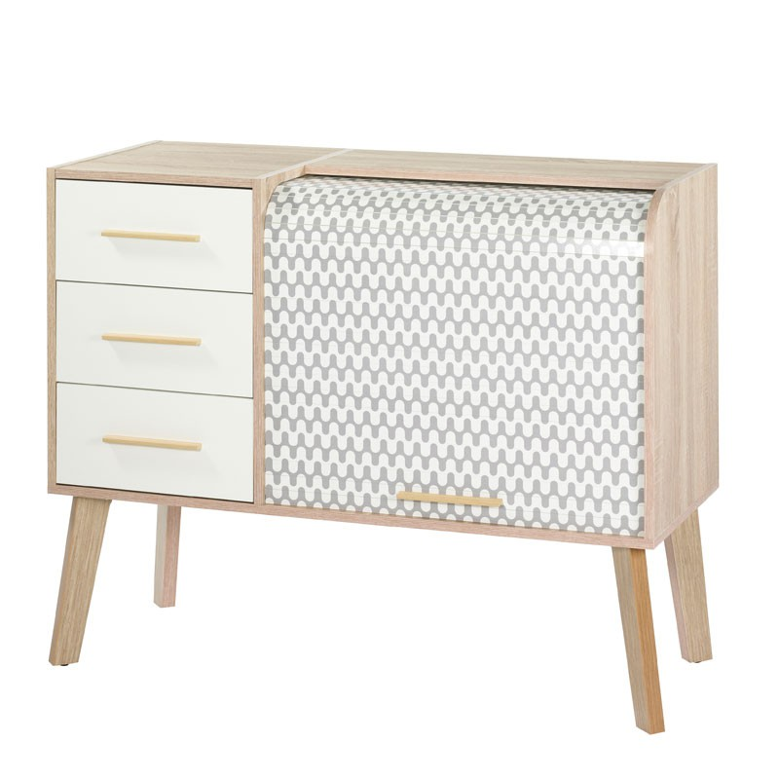 meuble d 39 entr e rideau 3 tiroirs arkos n 5 univers petits meubles. Black Bedroom Furniture Sets. Home Design Ideas