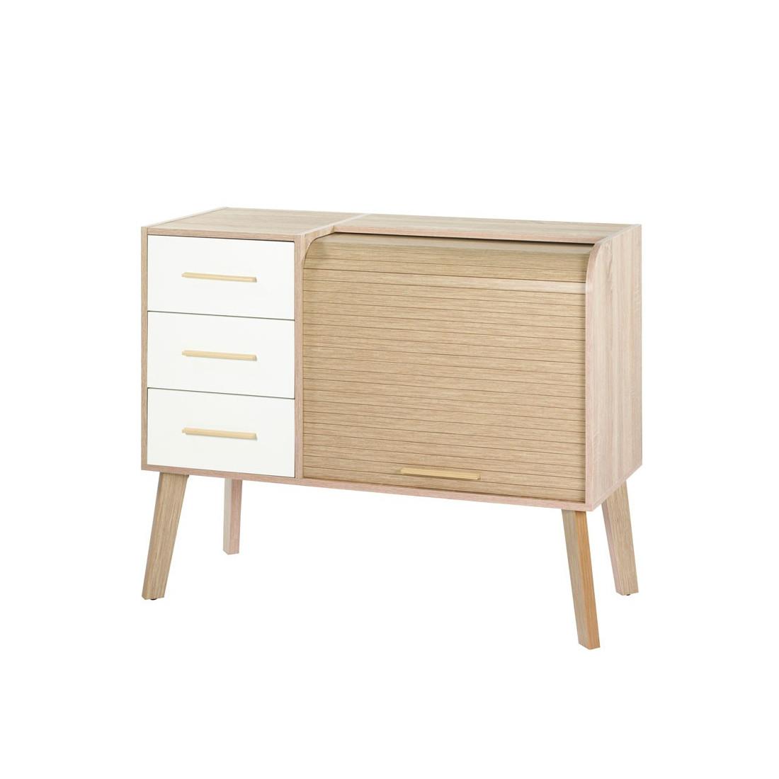 meuble 7 tiroirs - meuble d 39 entr e rideau 3 tiroirs arkos n 7 univers petits meubles