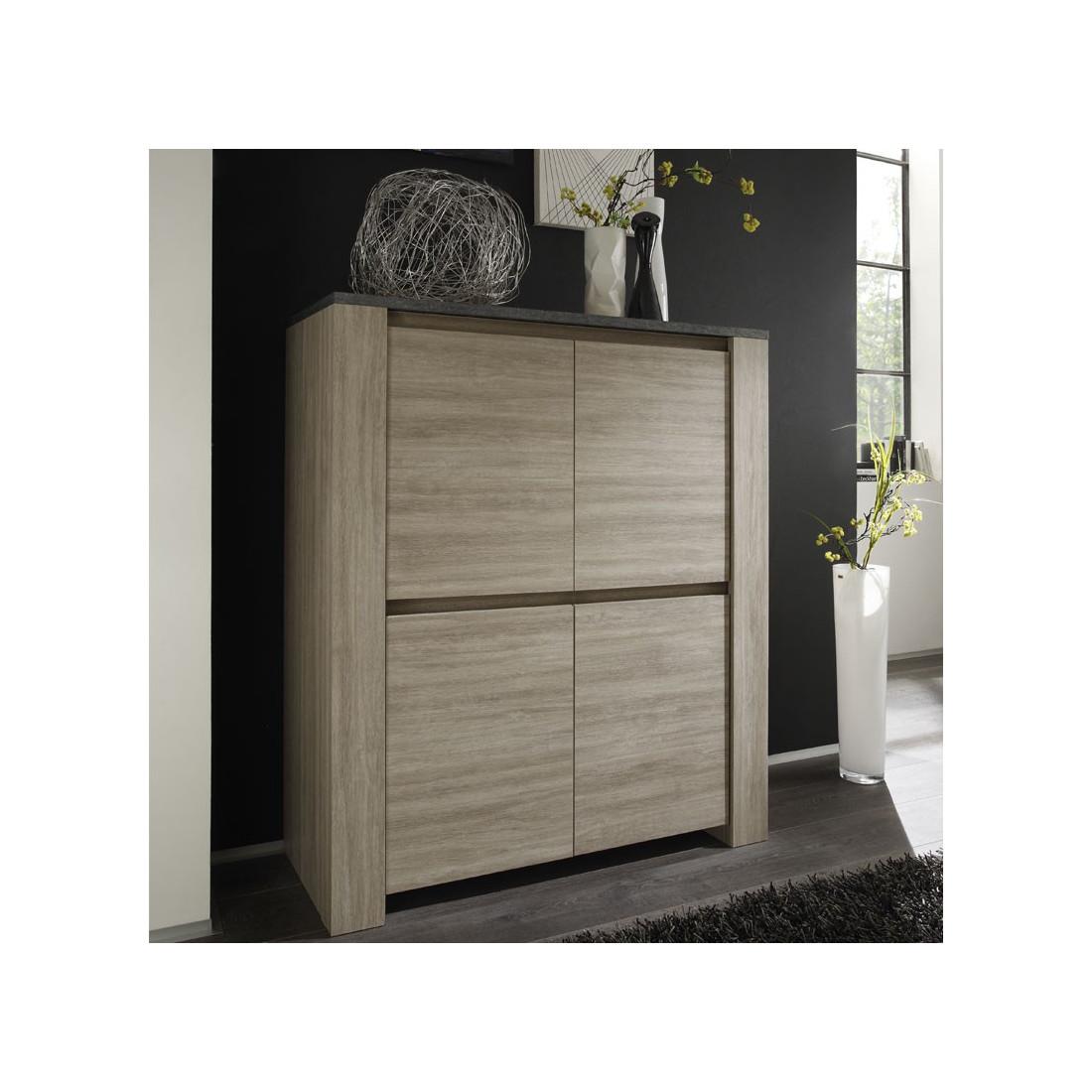 armoire de salon plateau ardoise ardesia univers salle manger. Black Bedroom Furniture Sets. Home Design Ideas
