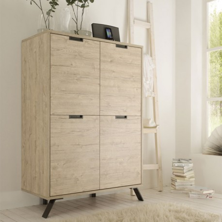 vaisselier armoire de salon ch ne clair palerme univers salle manger. Black Bedroom Furniture Sets. Home Design Ideas