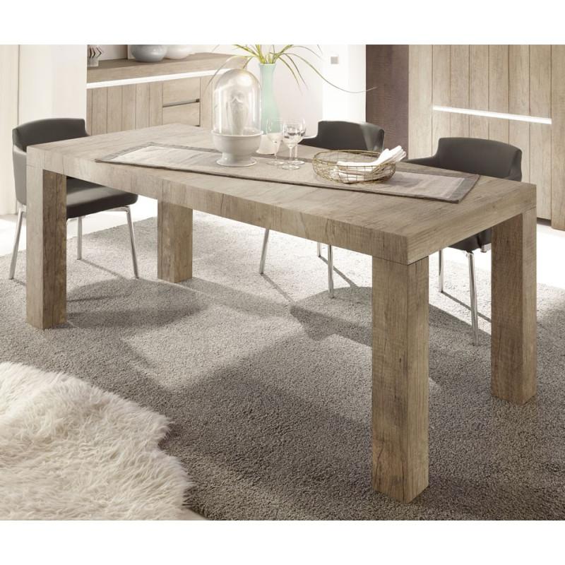 Table de repas 189 cm Chêne Moyen - ALMATI