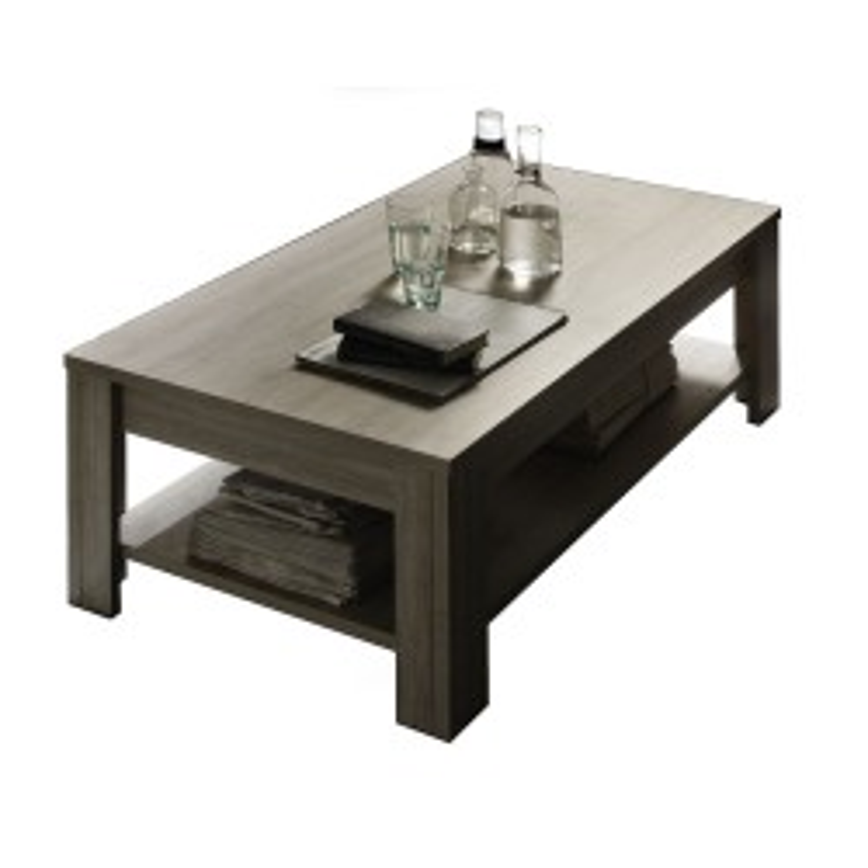 Table basse double plateau Chêne gris - ARDESIA