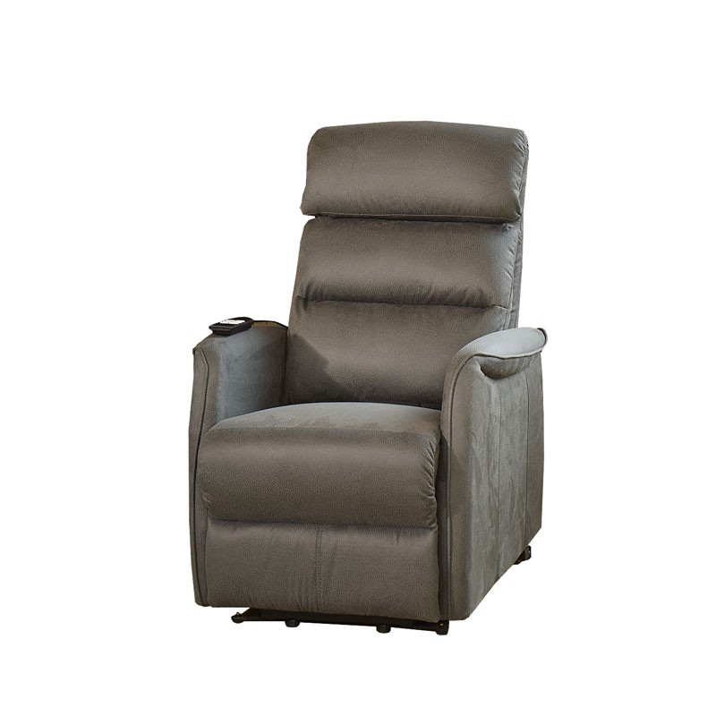 fauteuil de relaxation gris softy univers du salon tousmesmeubles. Black Bedroom Furniture Sets. Home Design Ideas