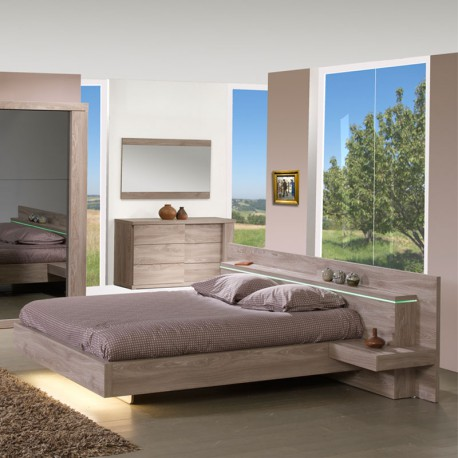cadre de lit t te de lit 140 190 cm toulouse univers de la chambre. Black Bedroom Furniture Sets. Home Design Ideas