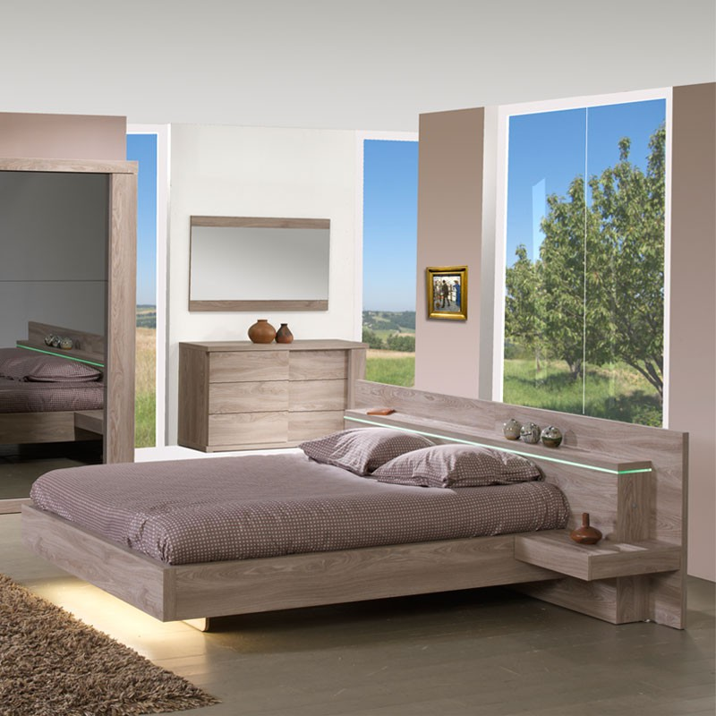 cadre de lit t te de lit 160 200 cm toulouse univers. Black Bedroom Furniture Sets. Home Design Ideas