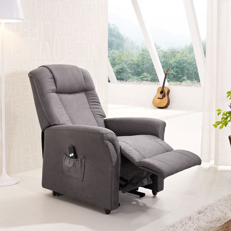 fauteuil releveur 2 moteurs gris liberty univers du salon. Black Bedroom Furniture Sets. Home Design Ideas