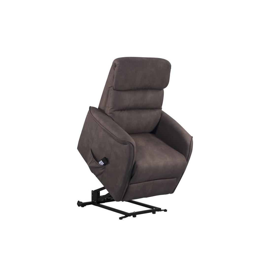 fauteuil de relaxation brun softy univers du salon. Black Bedroom Furniture Sets. Home Design Ideas