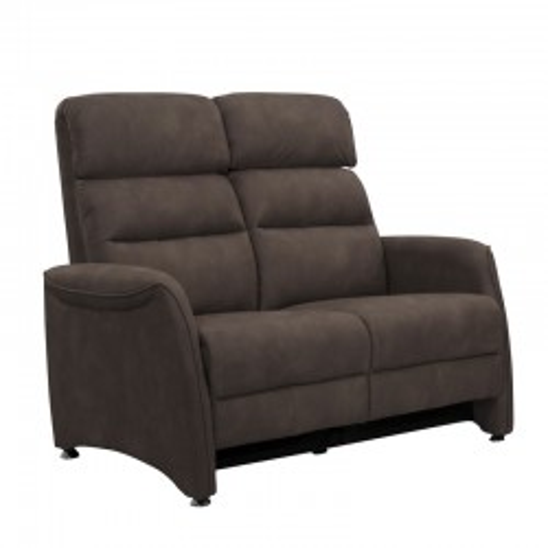 Canapé de Relaxation 2 places Brun - SOFTY