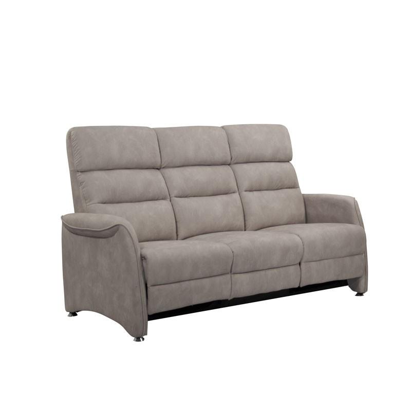 Canapé de Relaxation 3 places Mastic - SOFTY