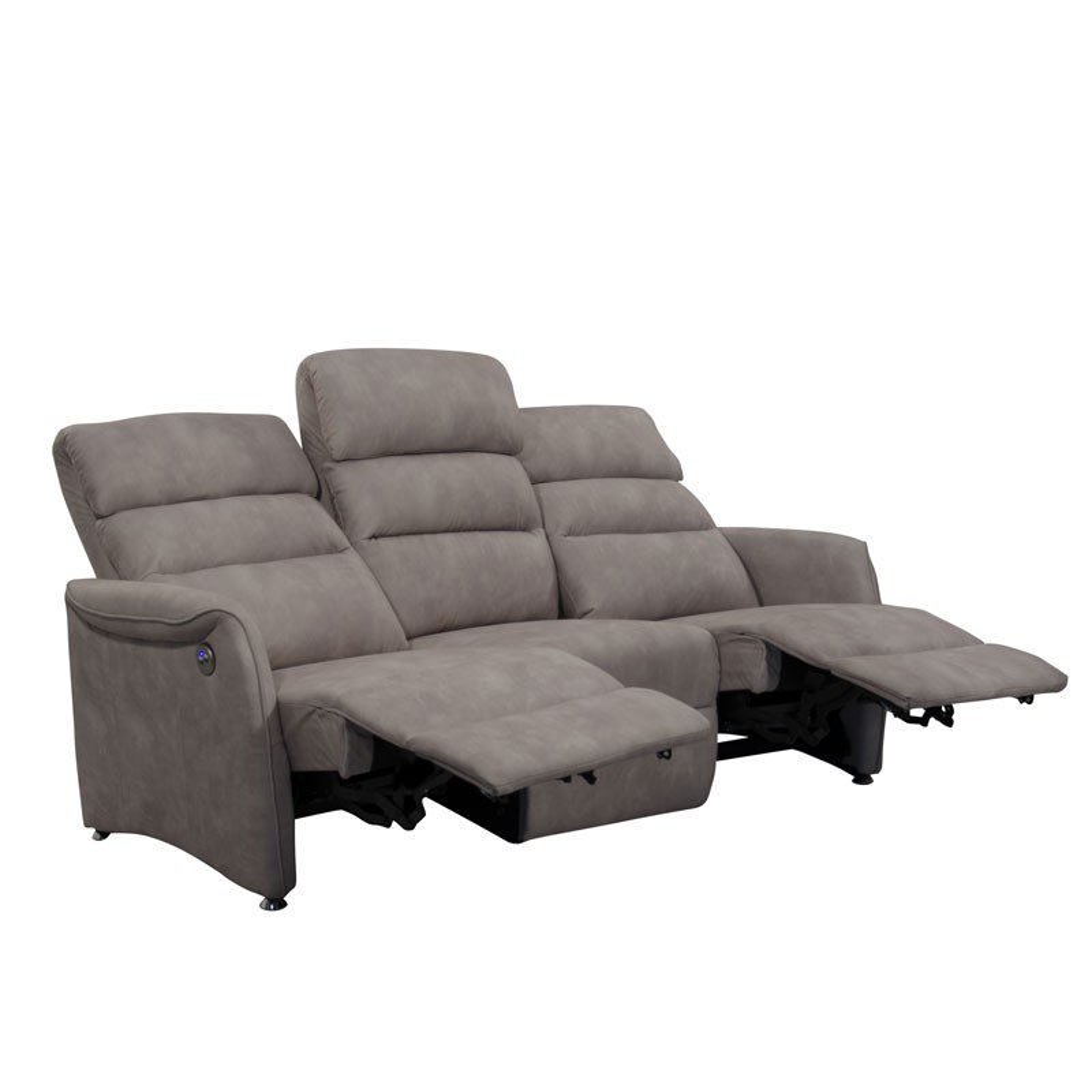 canap de relax lectrique 3p mastic softy univers salon. Black Bedroom Furniture Sets. Home Design Ideas