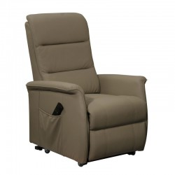 Fauteuil de Relaxation Taupe