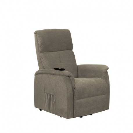 fauteuil relax releveur 1 moteur gris clair chinoy assises. Black Bedroom Furniture Sets. Home Design Ideas