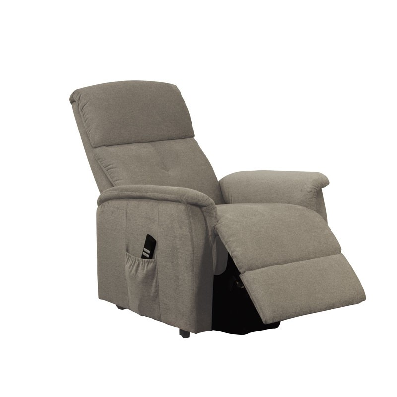 fauteuil relax releveur 2 moteurs gris clair chinoy assises. Black Bedroom Furniture Sets. Home Design Ideas