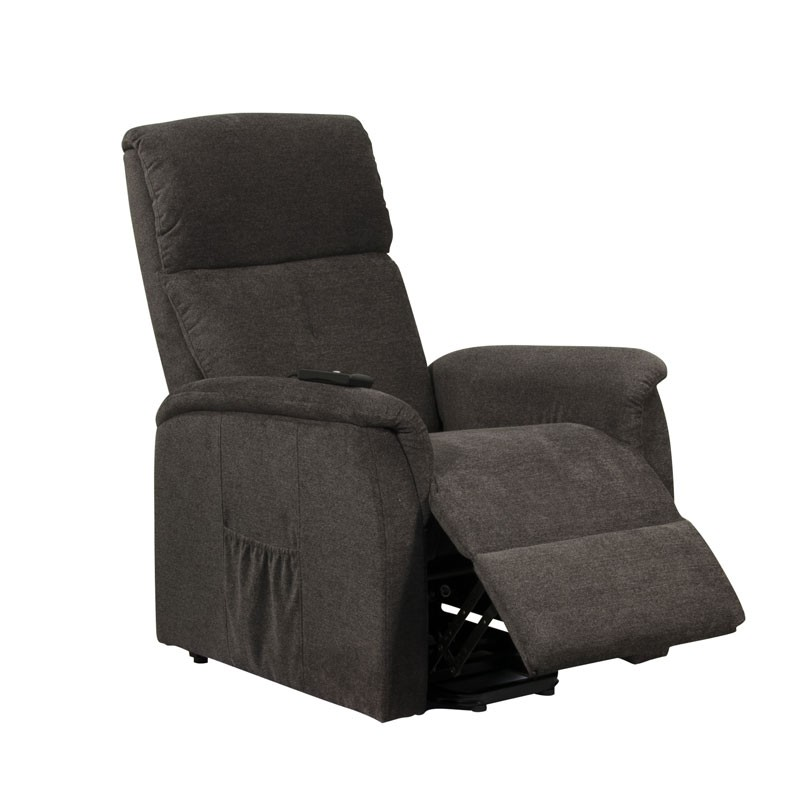 fauteuil relax releveur 1 moteur anthracite chinoy assises. Black Bedroom Furniture Sets. Home Design Ideas