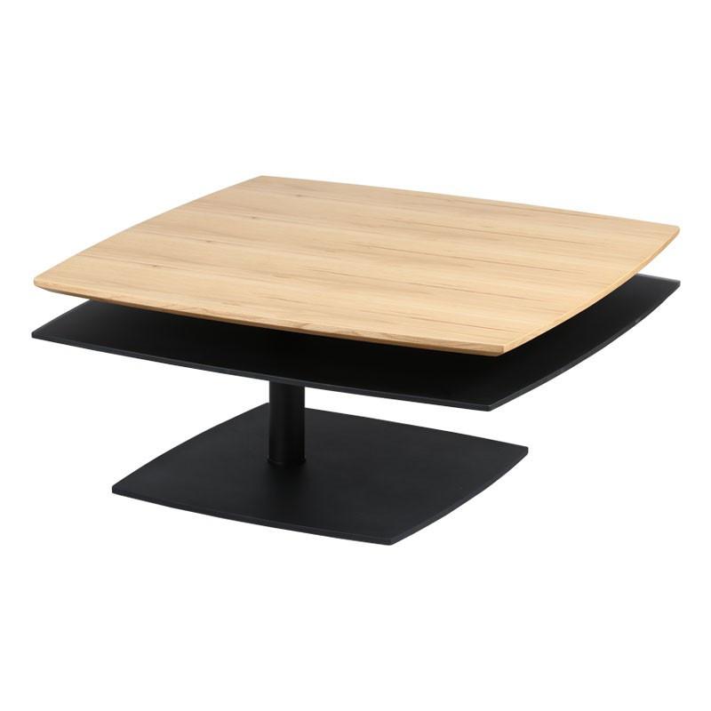 Table basse Bois/Noir - FLAMB