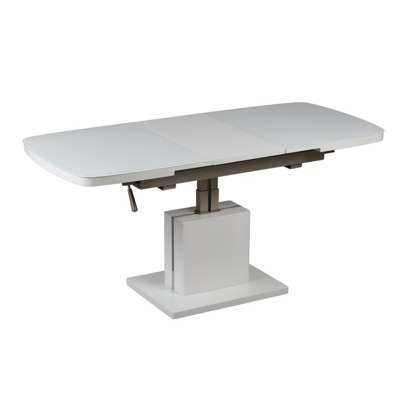 Table basse relevable extensible magic univers du salon for Table basse relevable extensible but