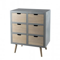 Commode 6 tiroirs - LOLIE
