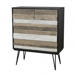 Commode 5 tiroirs - CALLY