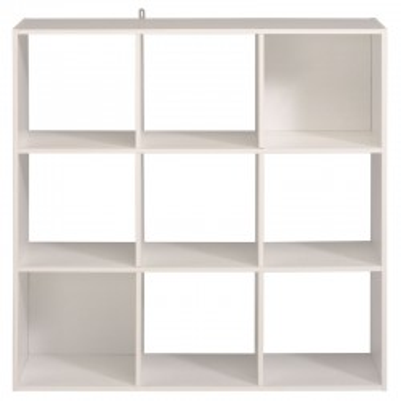 Etagère cube 9 cases Blanc - FELIX n°1
