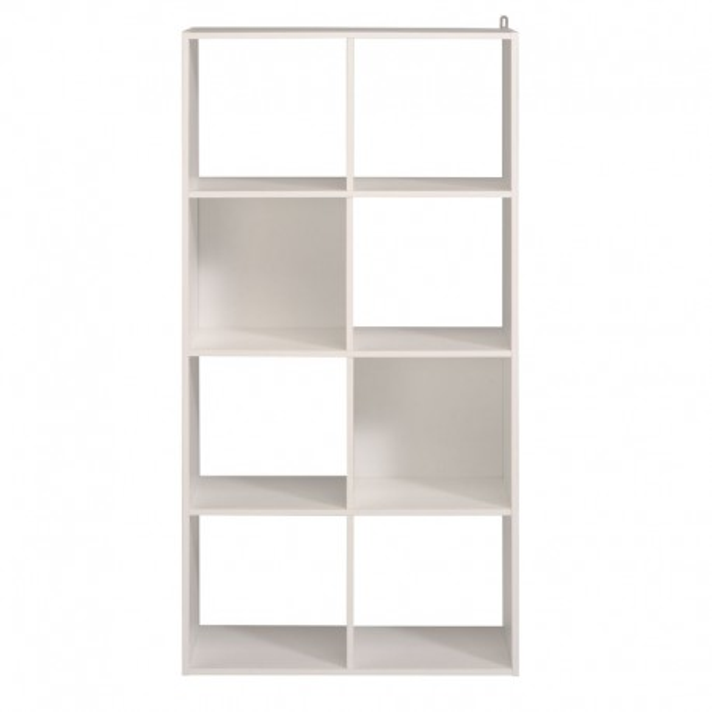Etagère cube 8 cases Blanc - FELIX n°1