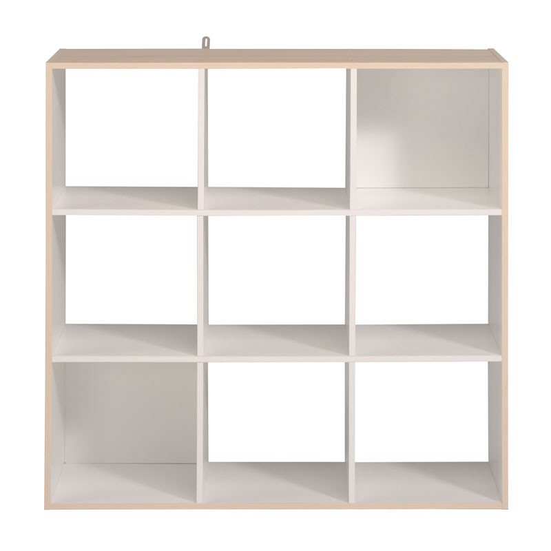 tag re cube 9 cases blanc acacia felix n 2 univers du rangement. Black Bedroom Furniture Sets. Home Design Ideas