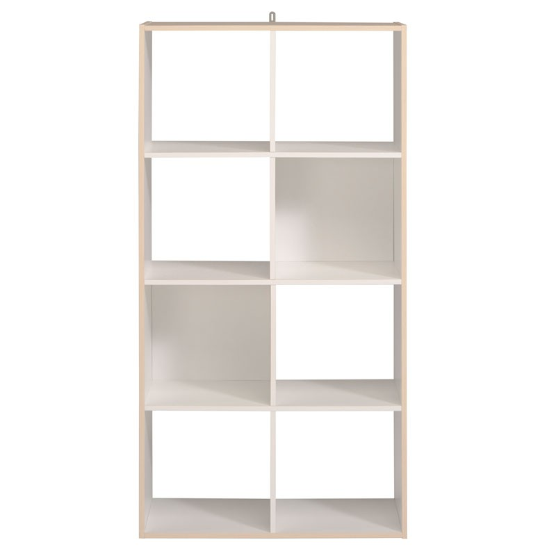 tag re cube 8 cases blanc acacia felix n 2 univers du rangement. Black Bedroom Furniture Sets. Home Design Ideas