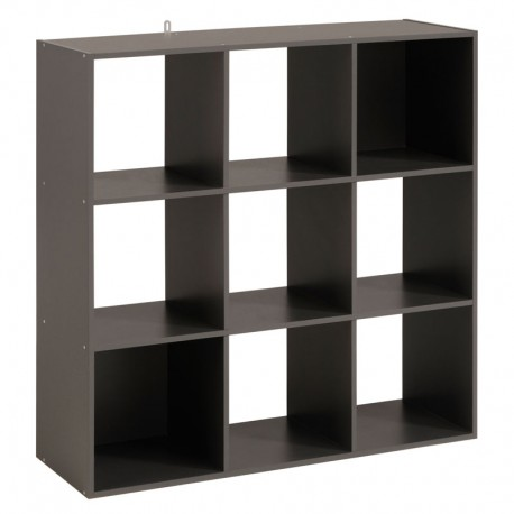 Etagère cube 9 cases Gris - FELIX n°4
