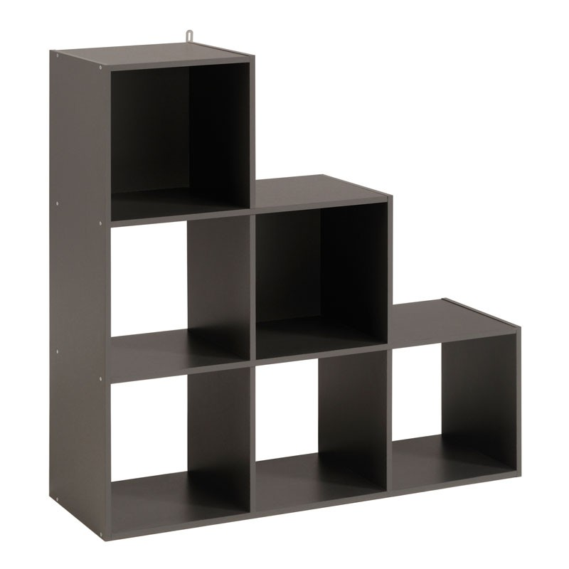 tag re escalier cube 6 cases gris felix n 4 univers du rangement. Black Bedroom Furniture Sets. Home Design Ideas