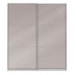 Armoire dressing Taupe brillant - JOYCE